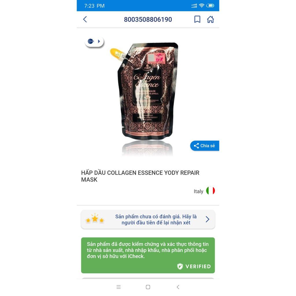 Dầu Hấp Ủ Tóc Yody Collagen Essence 500ml (Chính Hãng)