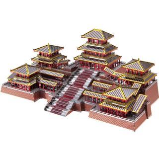 Mô Hình Kim Loại Lắp Ráp 3D Piececool Cung A Bàng Epang Palace P094-RSK