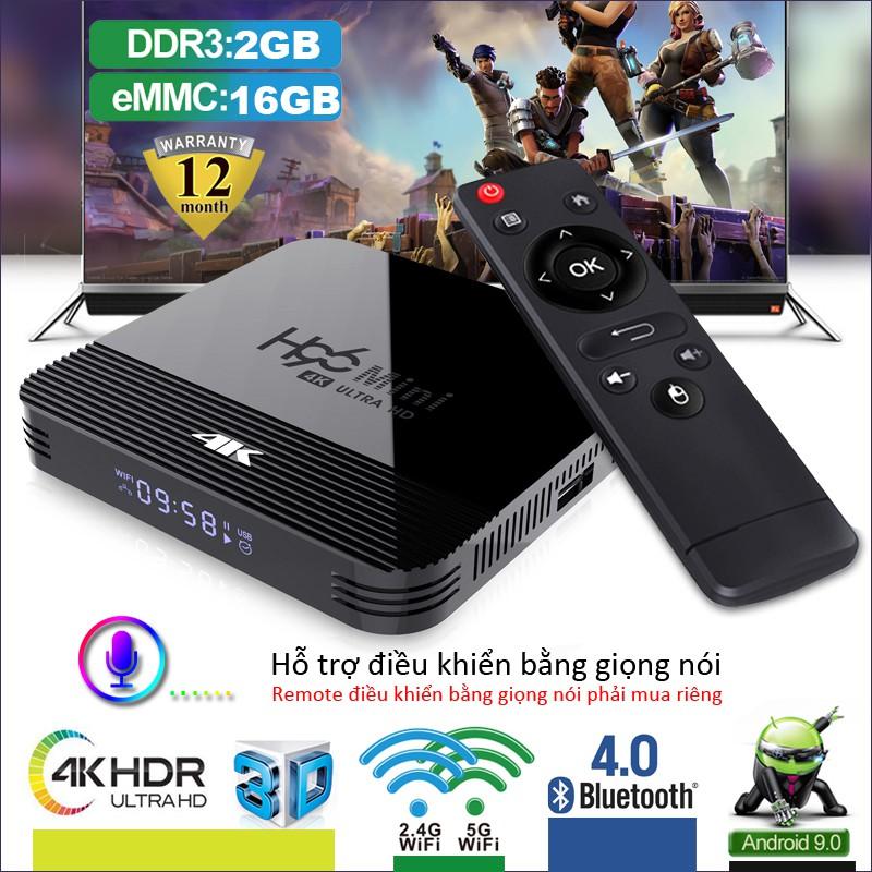 Android Tivi Box Dành cho thị trường Việt Nam Phiên Bản 2G Ram Và 16G Bộ Nhớ Trong - BH 1 Năm - ILEPO R-TVBOX X10