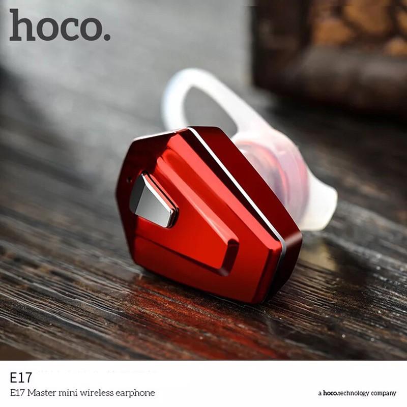 TAI NGHE HOCO E17 DÒNG 1 TAI - TAI NGHE CHÍNH HÃNG HOCO - TAI NGHE KHÔNG DÂY ĐẬM CHẤT TAI NGHE THỂ THAO