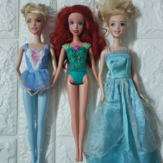 Set 3 búp bê công chúa ko lỗi