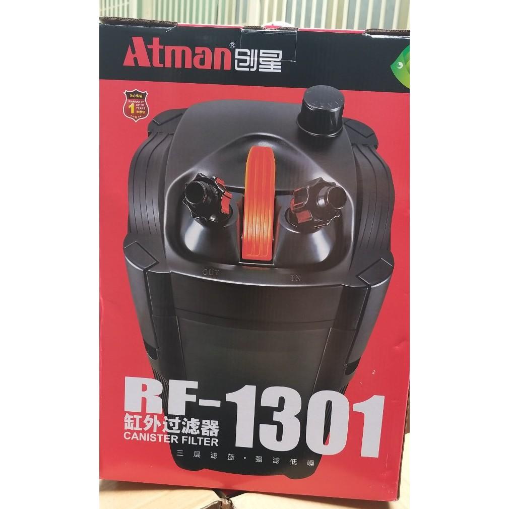 Lọc thùng Atman RF-1301 công suất 22W đời mới nhất thay thế cho dòng Atman DF-1300 dành cho hồ thủy sinh từ 100L -