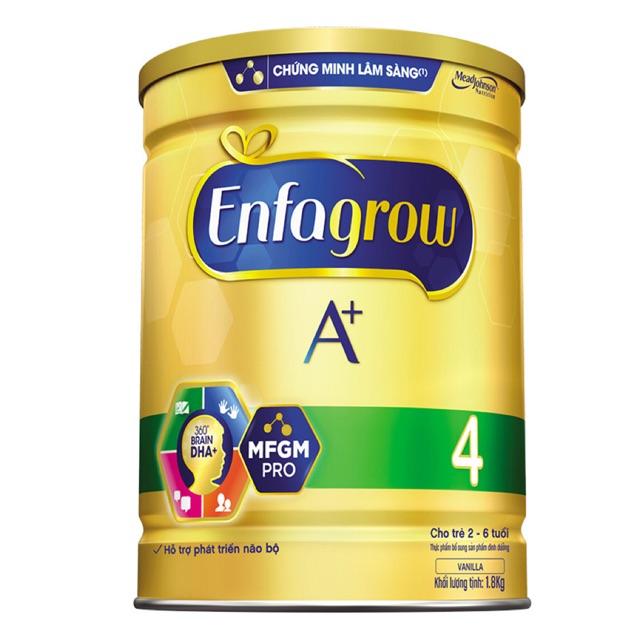 Sữa bột Enfagrow A+ 4 DHA+ và MFGM PRO 1.8kg