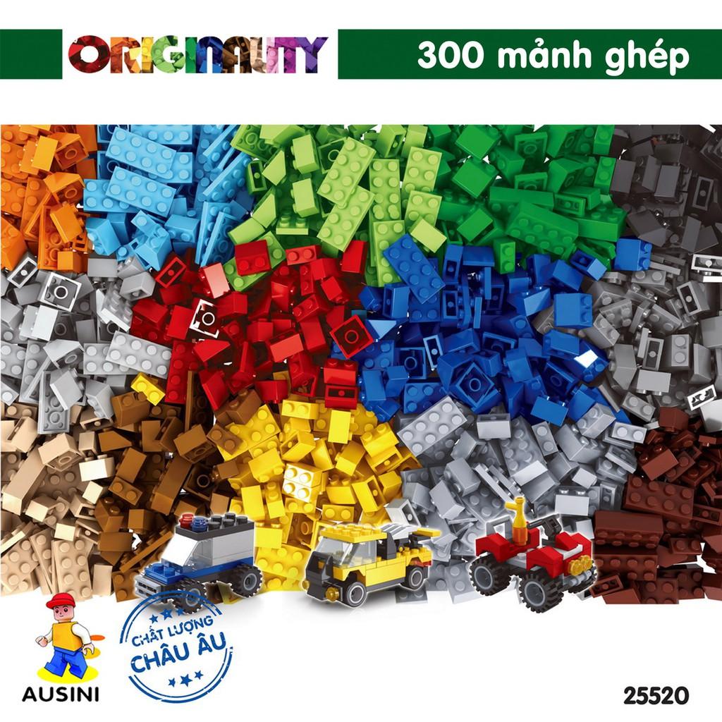 Bộ Lắp Ráp Bộ Mảnh Ghép Cơ Bản Ausini 25520 (300 Mảnh Ghép)