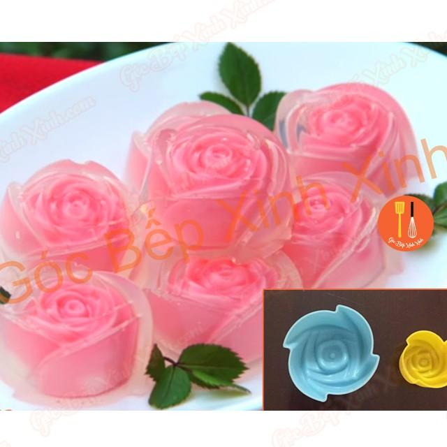 Set khuôn silicon hoa hồng lớn nhỏ làm socola thạch kẹo rau câu Thái 3cm 5cm - 2727398 , 691139493 , 322_691139493 , 25000 , Set-khuon-silicon-hoa-hong-lon-nho-lam-socola-thach-keo-rau-cau-Thai-3cm-5cm-322_691139493 , shopee.vn , Set khuôn silicon hoa hồng lớn nhỏ làm socola thạch kẹo rau câu Thái 3cm 5cm