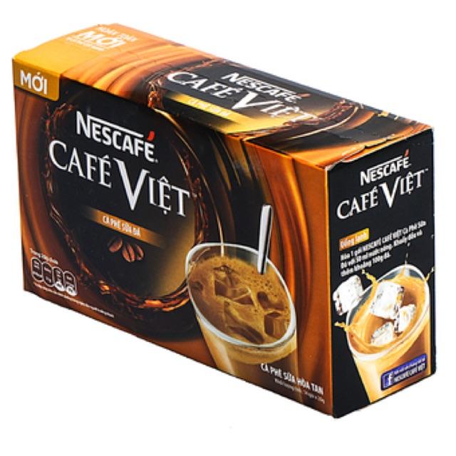 Cà phê Nestle việt sữa đá 340g (14 gói * 20g) - 2648121 , 126200819 , 322_126200819 , 45000 , Ca-phe-Nestle-viet-sua-da-340g-14-goi-20g-322_126200819 , shopee.vn , Cà phê Nestle việt sữa đá 340g (14 gói * 20g)