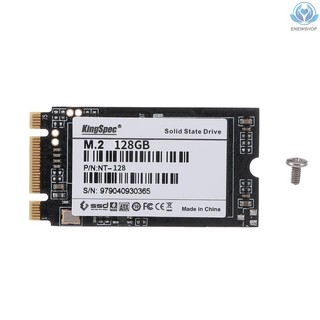 【enew】KingSpec 128G MLC M.2 NGFF 42mm Digital Flash SSD Solid State Drive Storage Devices for Computer PC Laptop Desktop