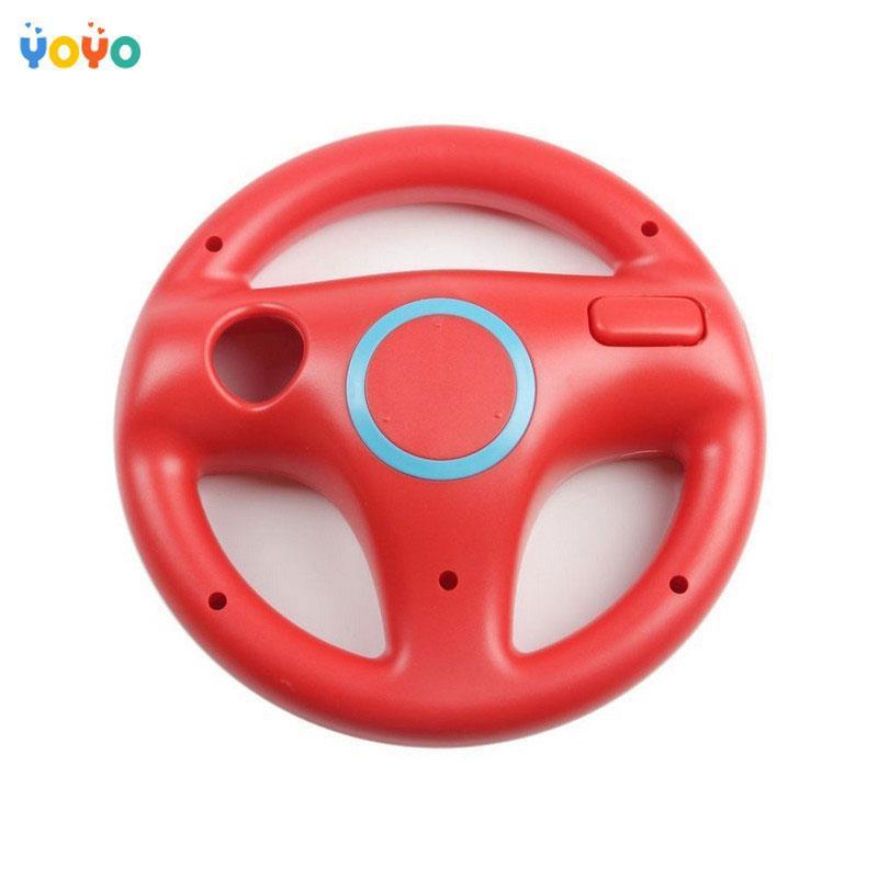 Steering Wheel Holder Racing Game Remote Controller for Nintendo Mario Wii