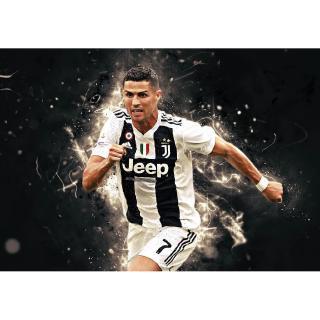 Tranh Treo Tường Hình Cristiano Ronaldo Juventus