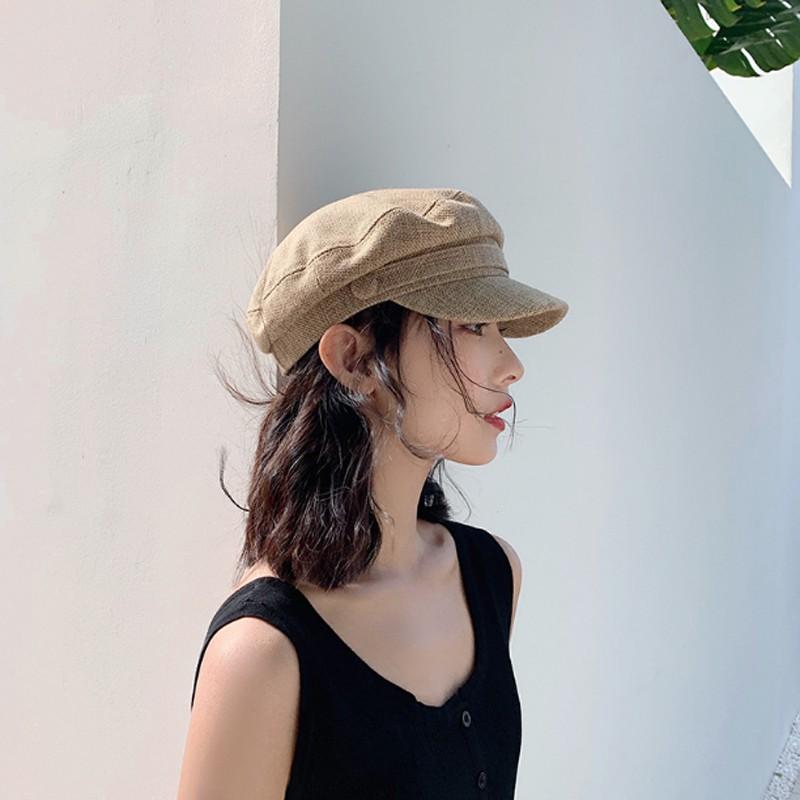 Mũ Baret nồi nữ kiểu dáng Hàn Quốc