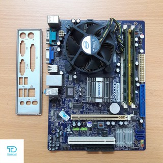 Combo Main Foxconn G31, E5300, ram 2GB DDR2, Quạt 775 - Combo lắp máy văn phòng Foxcon G31, E5300, ram 2G thumbnail