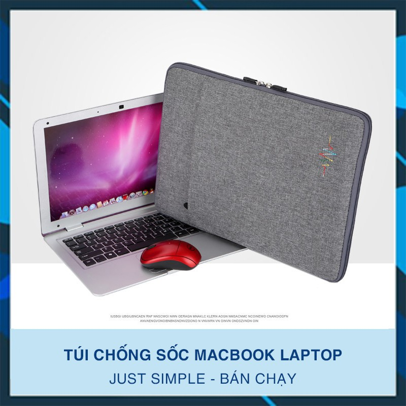 Túi chống sốc Macbook Laptop Just Simple 2018