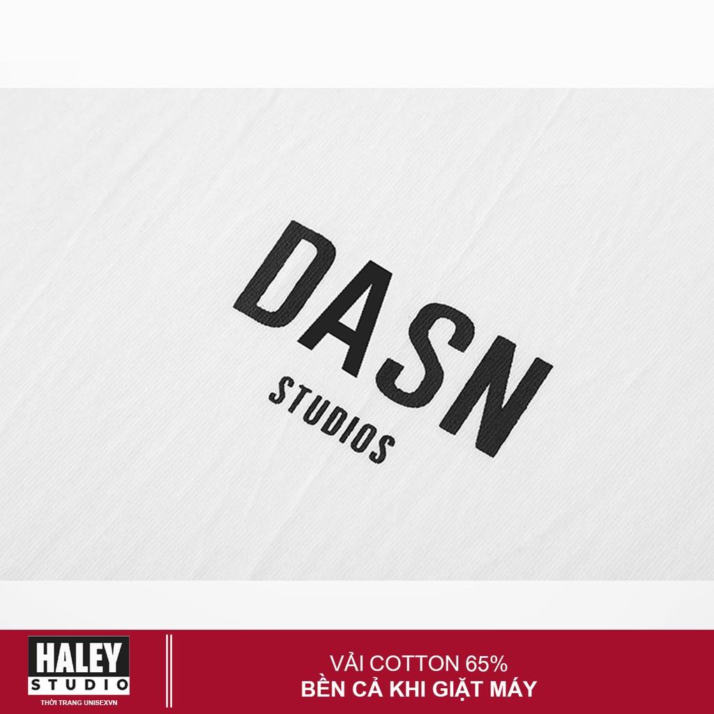 [Mã FASHIONT4MA giảm 10K đơn 50K] Áo Thun Unisex Form Rộng Nam Nữ DASN.phong cách Hàn Quốc TN100 Haley