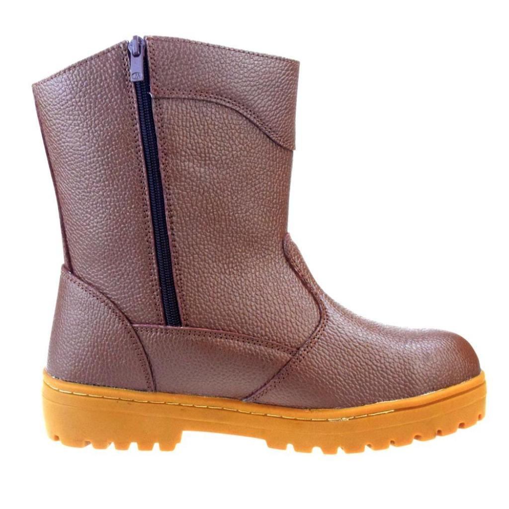 Fashion wild BUZZY BULL LEATHER BOOT (28 cm) รองเท้าบูท หนังแท้ งานเชื่อมไฟฟ้าashion wild BUZZY BULL LEATHER BOOT (28 cm