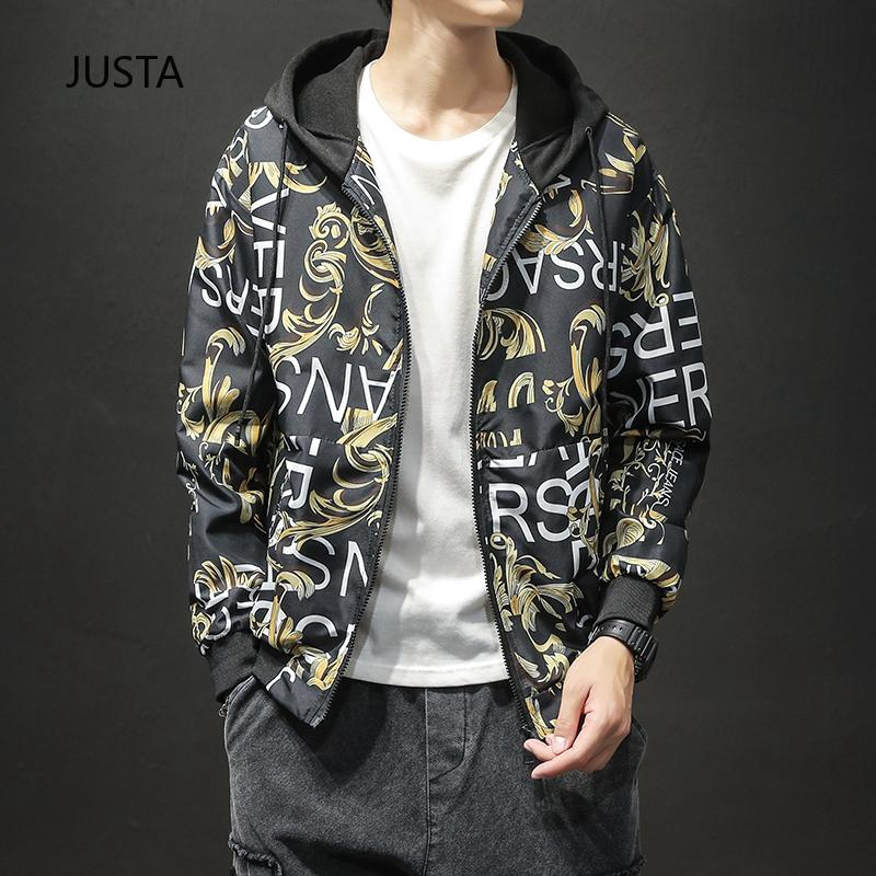Hong Kong version ชายของเสื้อ  spot เสื้อแจ็กเก็ตกันแดดแฟชั่น