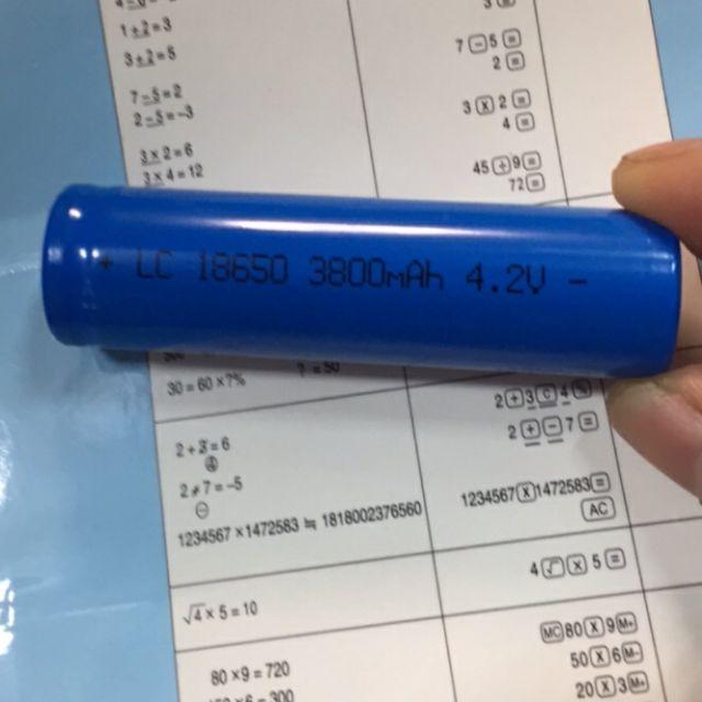 Pin sạc 18650   4,2v li-ion