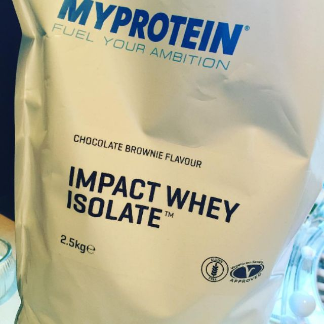 Bột Impact Whey Isolate 2.5KG - Nguyên seal