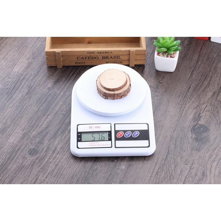Cân Điện Tử Nhà Bếp Cân Thực Phẩm 1 g – 10 kg Kèm 2 Pin AAA