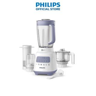 [Mã ELMALL300K giảm 5% đơn 500K] Máy xay sinh tố Philips HR2223 00 700W full phụ kiện cối nhựa - Hàng chính hãng thumbnail