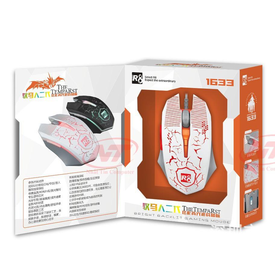 Chuột Dây Gaming R8-1633 USB