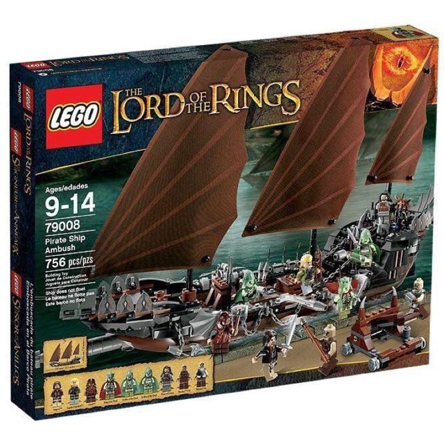 Lego 79008 Pirate Ship Ambush - Tàu Cướp biển trong The Lord of the Rings - Chúa tể những chiếc...