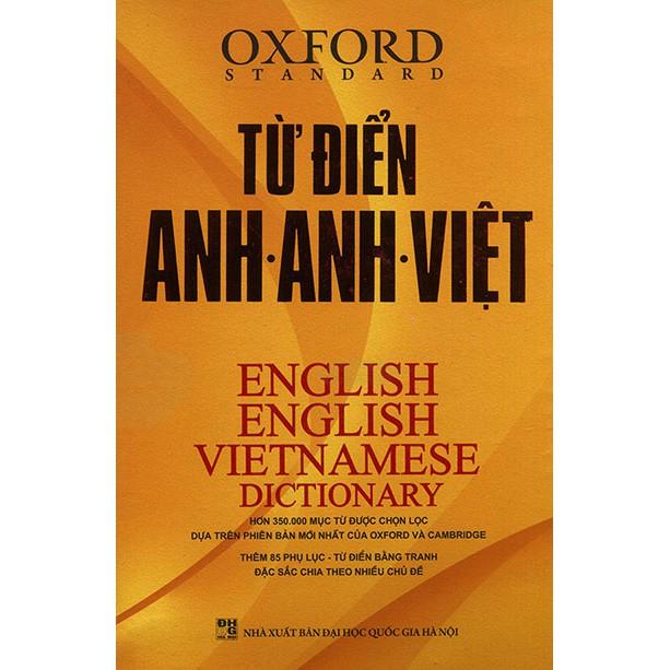 Từ điển Anh - Việt 350.000 từ - The Windy (bìa cứng) (bìa ngẫu nhiên)