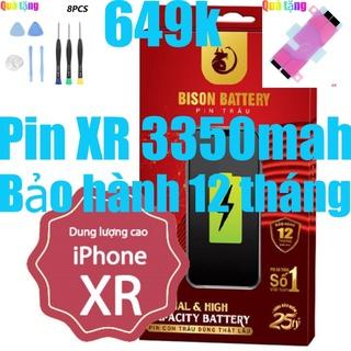 Pin iPhones XR dung lượng cao 3350mah Bison chính hãng thumbnail