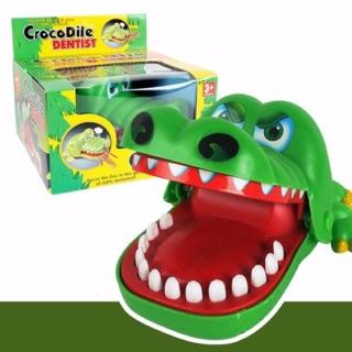 Đồ chơi khám răng cá sấu Crocodile dentist
