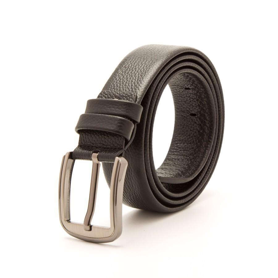 [Hoài Duy Shop] Thắt lưng da bò 4U nam tính T208 (đen - nâu) [Cam kết chất lượng]