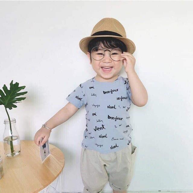 Áo phông zara bé trai
