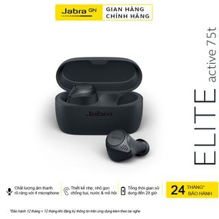 Tai Nghe Không Dây, True Wireless Jabra Elite Active 75T - Hàng Chính Hãng