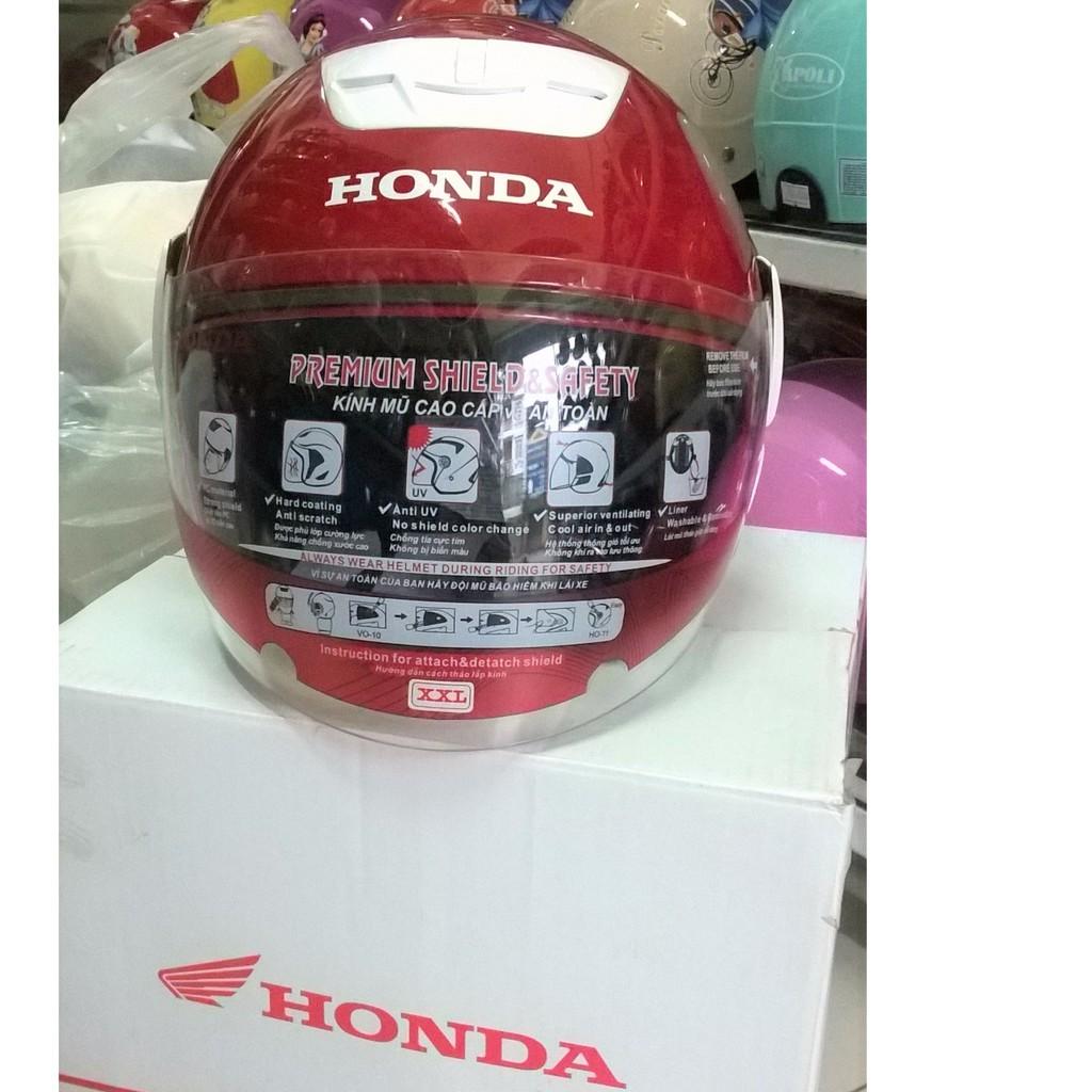 Mũ bảo hiểm Honda cả đầu chính hãng - 3423403 , 687346262 , 322_687346262 , 495000 , Mu-bao-hiem-Honda-ca-dau-chinh-hang-322_687346262 , shopee.vn , Mũ bảo hiểm Honda cả đầu chính hãng