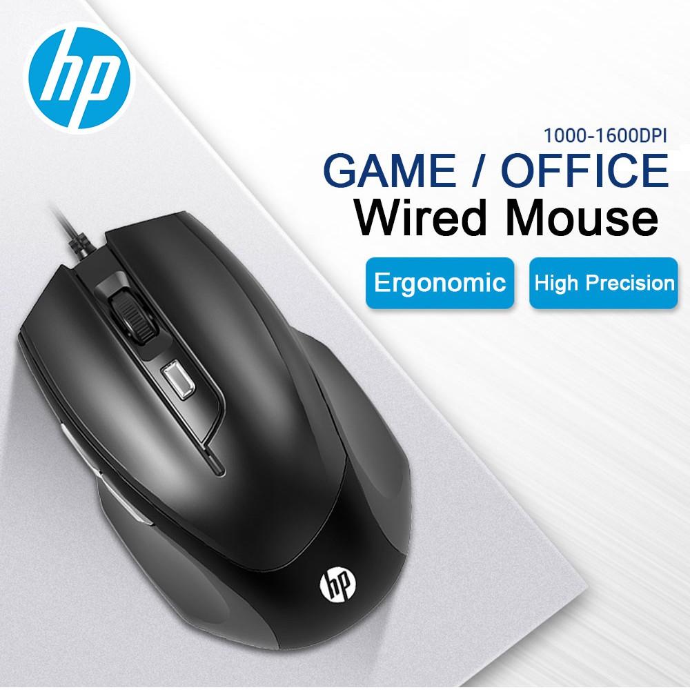 Chuột Mouse có dây HP M150. Dùng cổng USB. Vi Tính Quốc Duy