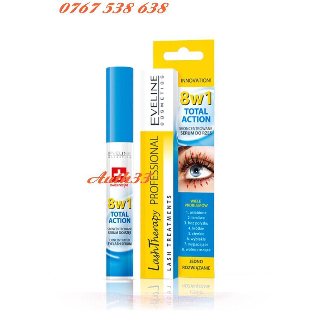 Huyết thanh Dưỡng mi Eveline 8 in 1 Total Action Lash Therapy professional có BILL - 14939702 , 2499577648 , 322_2499577648 , 102600 , Huyet-thanh-Duong-mi-Eveline-8-in-1-Total-Action-Lash-Therapy-professional-co-BILL-322_2499577648 , shopee.vn , Huyết thanh Dưỡng mi Eveline 8 in 1 Total Action Lash Therapy professional có BILL