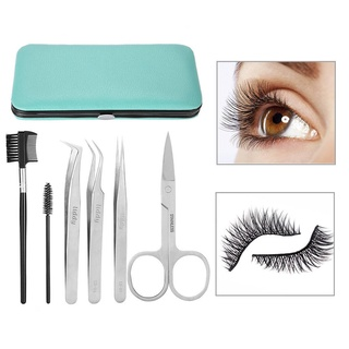 6pcs/Set Professional Eyelashes Extension Tool Kit
