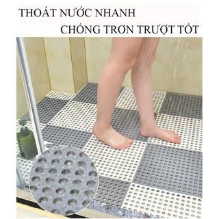 Yêu Thích[ SALE SẬP SÀN ] Tấm Thảm Nhựa Lỗ Ghép Lót Sàn Kháng Khuẩn Chống Trơn Trượt Hàng Việt Nam Cao Cấp