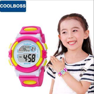 Đồng hồ điện tử chống nước COOLBOSS (dành cho bé gái) thumbnail