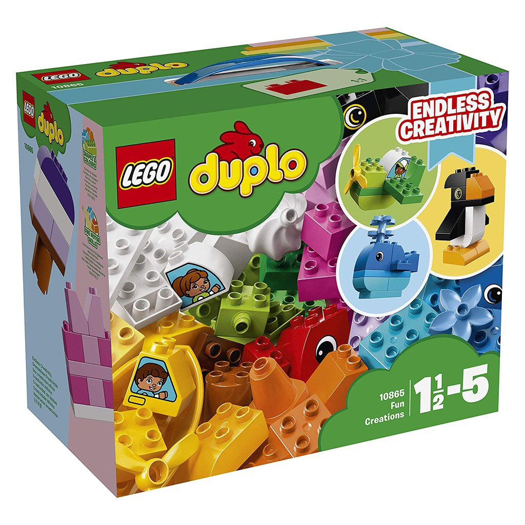 [Mã TOY5 giảm 10% đơn 50K] LEGO DUPLO Hộp Gạch Vui Nhộn 10865