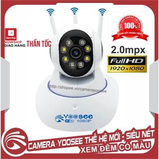 [Mã ELORDER5 giảm 10K đơn 20K] Camera IP YooSee 2.0mpx 1080P - 8Led