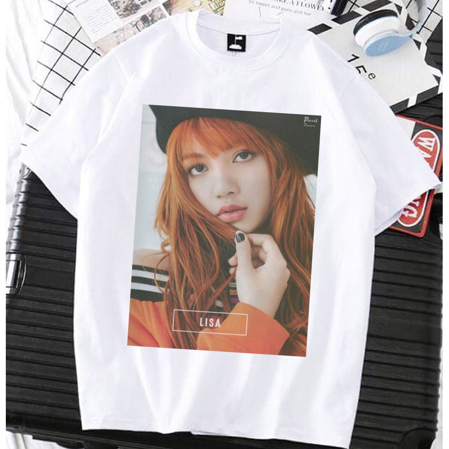 [4 thành viên - ORDER] Áo tay lở Black Pink Lisa Jennie Jisoo Rose