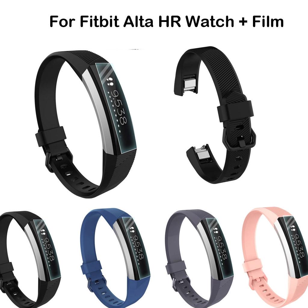 Dây Đeo Thay Thế Chất Liệu Silicon Thiết Kế Nhiều Lỗ Thời Trang Cho Fitbit Alta Hr Và Phụ Kiện