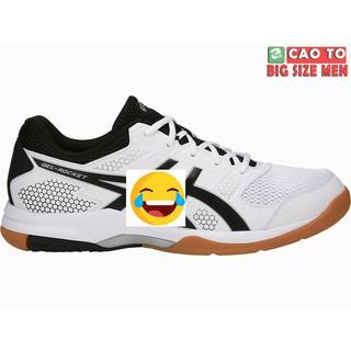 Giày Tennis Asics Trắng Đế Cam Full Size 38, 39, 40, 41, 42, 43, 44, 45