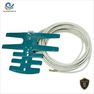 Anten Ngoài trời có dây dài 12 mét, dây thu sóng DVB T2 dễ dàng trong việc lắp đặt và sử dụng- ANTENT2