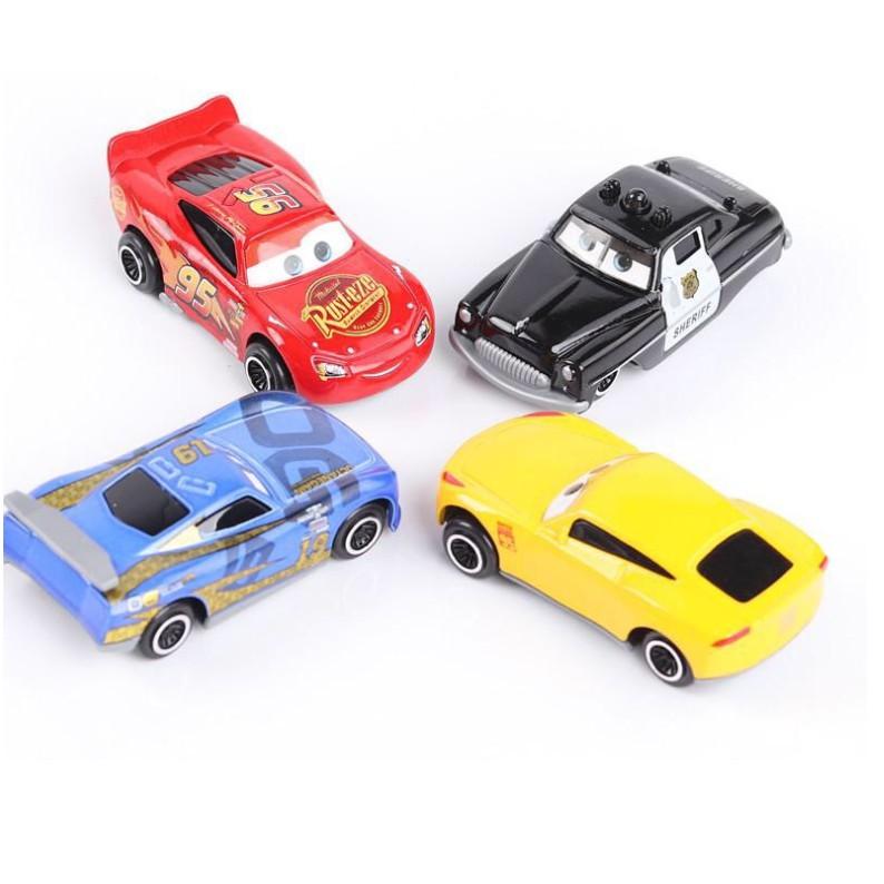 Bộ xe tải Lightning MC Queen và 06 xe car 3 xe ô tô đồ chơi trẻ em