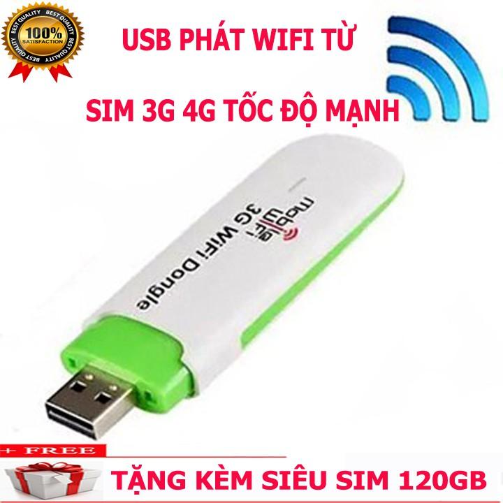 (Sale) USB 3G Phát Wifi HSPA I Chính hãng
