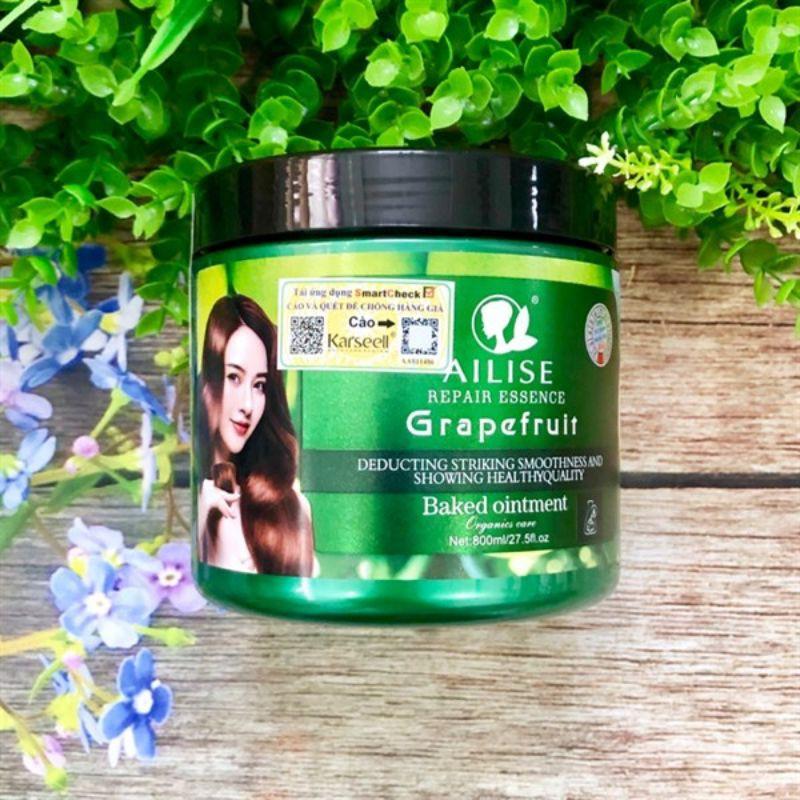 Hấp dầu bưởi Grapefruit AILISE siêu mượt phục hồi tóc cao cấp 800ml