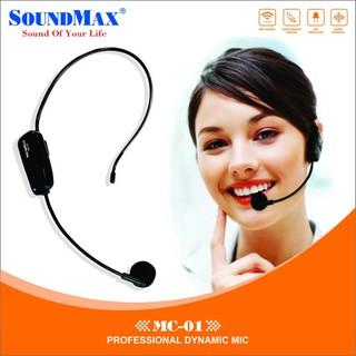 Microphone đeo tai không dây SoundMax MC-01