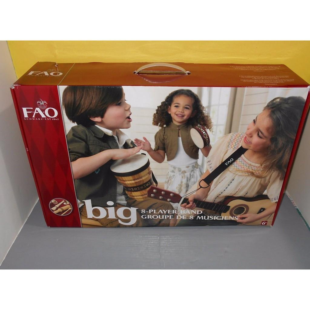 Bộ đồ chơi nhạc cụ 8 món FAO BIG