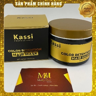 Yêu Thích[HÀNG TỐT] Kem ủ hấp tóc phục hồi hư tổn Kassi - 300ml