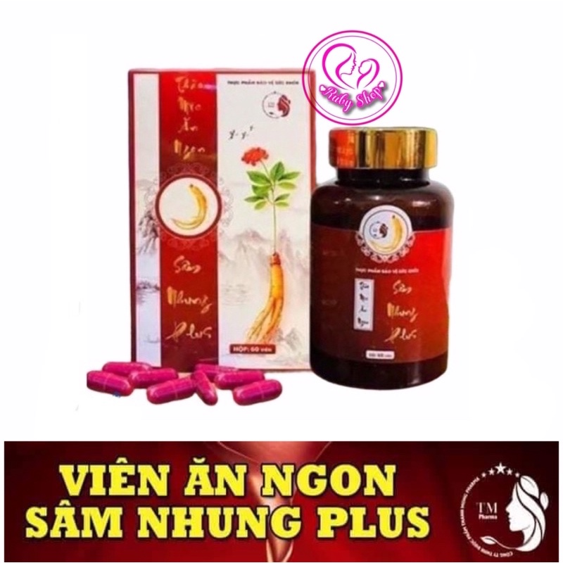 Tăng cân Sâm Nhung Plus ăn khỏe ngủ ngon
